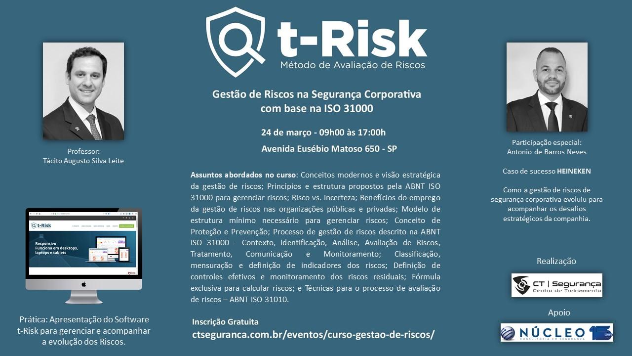 Curso gratuito (parte 1): Gestão de Riscos na Segurança Corporativa com base na ISO 31000