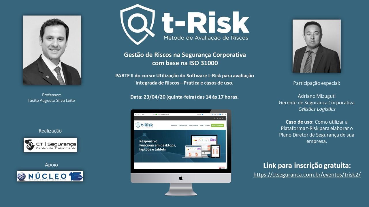 Curso gratuito (parte 2): Gestão de Riscos na Segurança Corporativa com base na ISO 31000